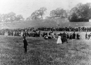 Sports in Rothamsted Park, Queen Victoria's Golden Jubilee 21 June 1887 | E Meadows