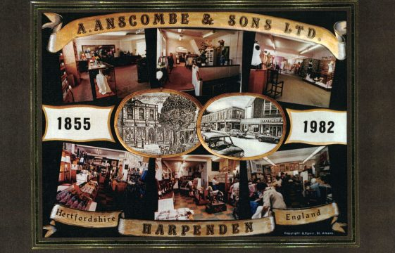Anscombes of Harpenden - Past and Present