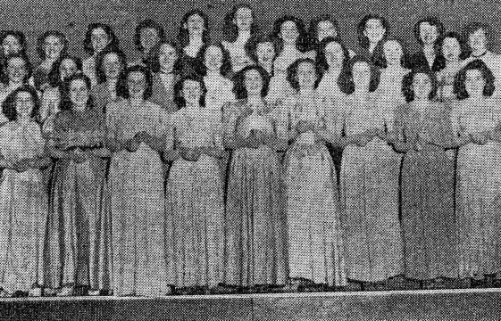 """Opportunity Knocks""  for a Harpenden Choir"