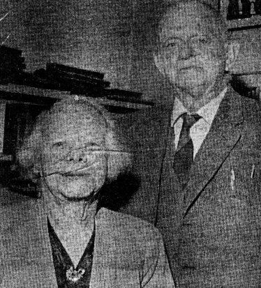 Ben and Clara Rowe in 1967