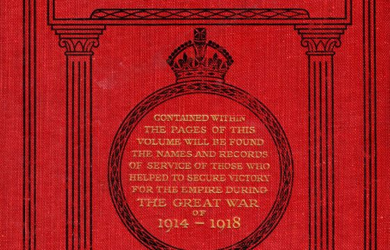 National Roll of Honour 1914-18