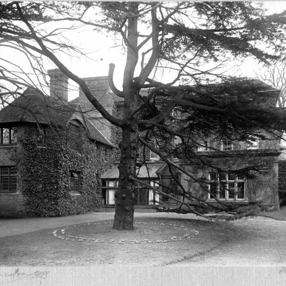 1 Welcombe, west frontage   LHS archives - Thurston Album 1