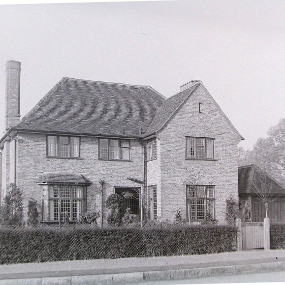 20 West Common Way, 1930s   Jim Jarvis - scanned from glass negative by J Marlow