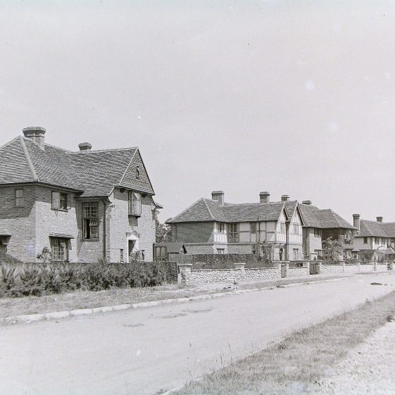 12 to 4 West Common Way - built in 1934-35 | Jim Jarvis - scanned from glass negative by J Marlow
