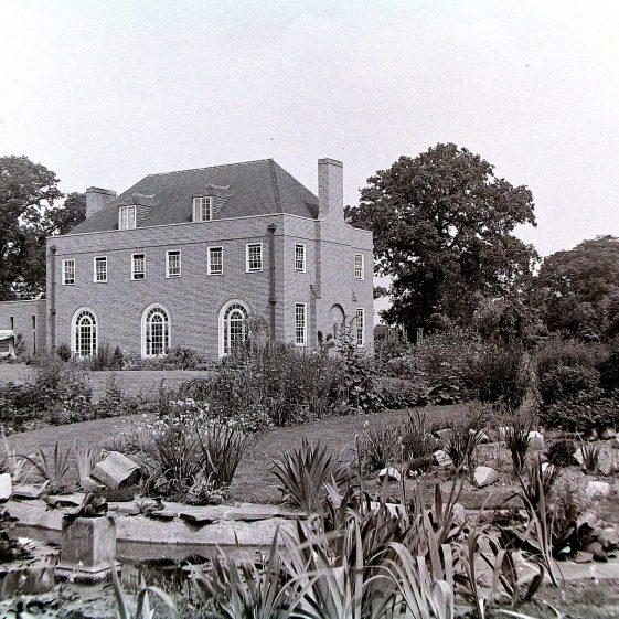 3 Dellcroft Way, from the rear garden | Jim Jarvis - scanned from glass negative by J Marlow; JJ 034; JG 20.