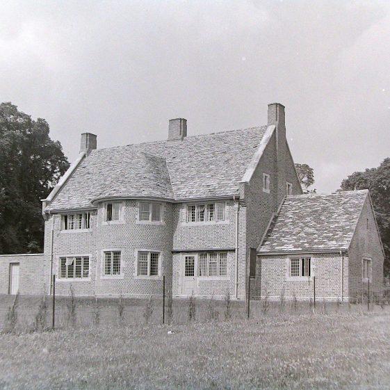 2 Oakfield Road - rear view | Jim Jarvis - scanned from glass negative by J Marlow; JJ 1149; JG 23