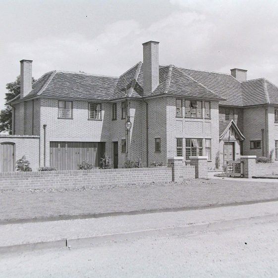 5 High Elms, first listed in 1935-36, not named or numbered, occupied by Miss D F Williams  There is now a large extension on the left | Jim Jarvis - scanned from glass negative by J Marlow; JJ 017; JG 27