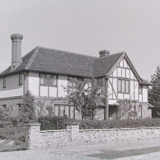 6 West Common Way, 1930s   Jim Jarvis - scanned from glass negative by J Marlow