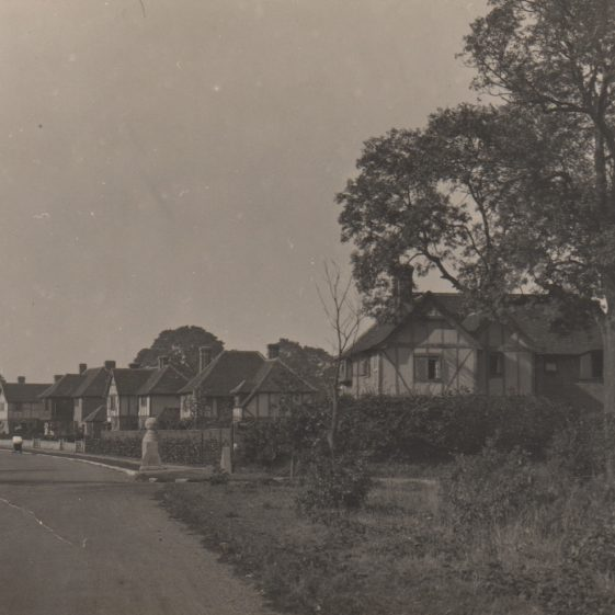 Entrance to West Common Way - 4 to 12, c. 1934 | Jim Jarvis - scanned by Chris Earnshaw from a print