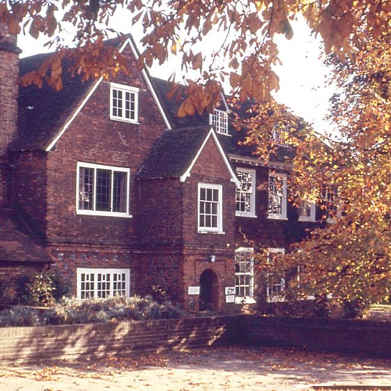Harpenden Hall in early 1970s   LHS archives - JJ 037