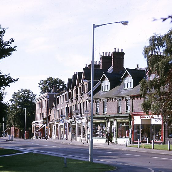 Harpenden High Street, looking south - also in October 1961, or earlier?   LHs archives - JJ 068