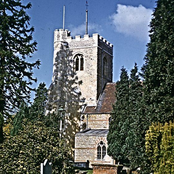 St Nicholas Church, 1953   LHS archives - JJ 076
