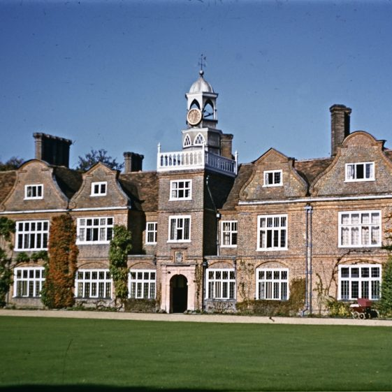 Rothamsted Manor, south front, 1953   LHS archives - JJ 090