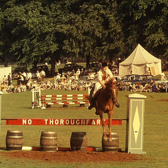 Harpenden Gymkhana, Rothamsted Park, 1964   LHS archives - JJ 114