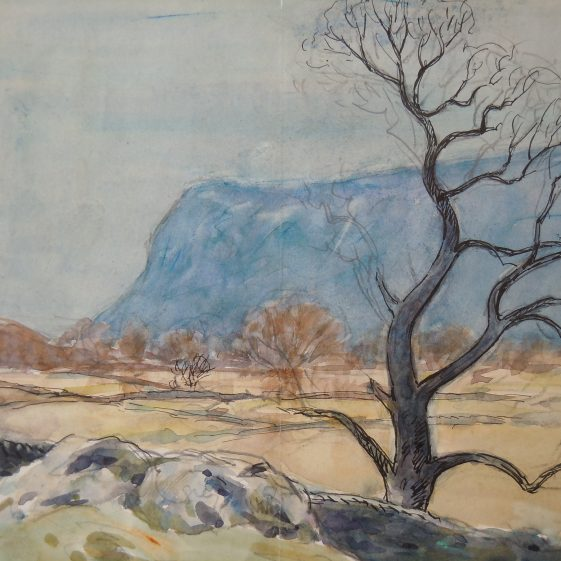 Lake District unfinished watercolour