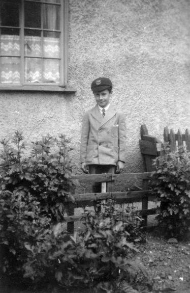 Myself at 13, Longfield Road. | John Olley