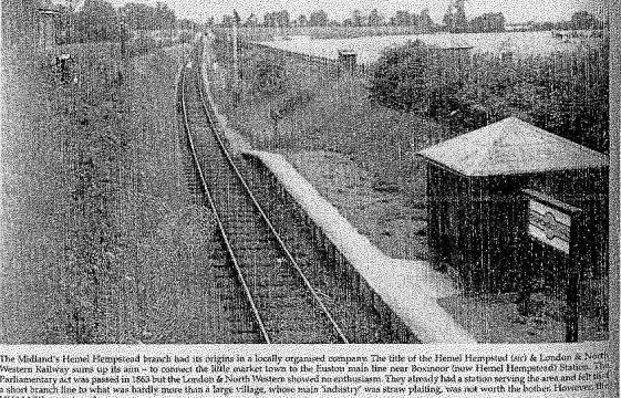 The Morning 'Nickey Train' at Roundwood Halt