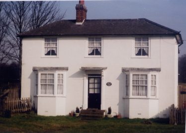 The White House, formerly the Horse & Jockey, at the end of Harpenden Racecourse | LHS archive