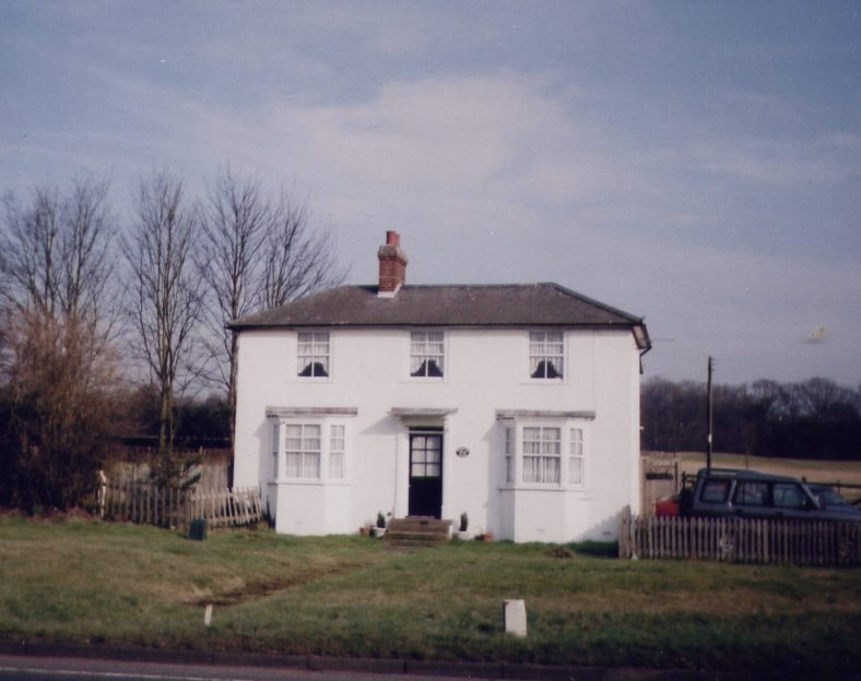 The Horse & Jockey Pub, St Albans Road - at the end of Harpenden Race Course.  Later, the White House, then Foxwood Lodge. | Les Casey, 2003