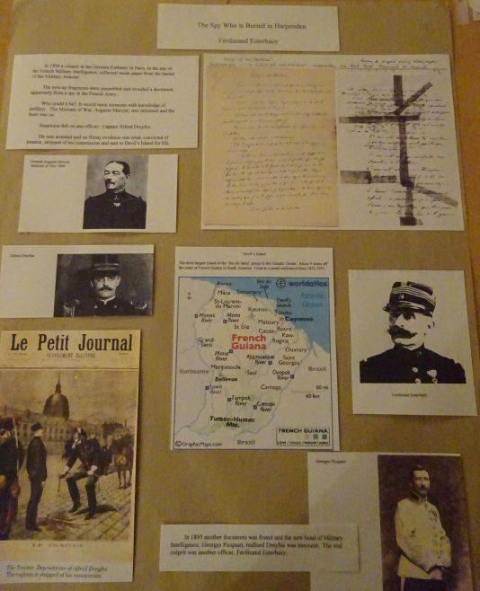 Panel - Esterhazy 1 - the spy buried in Harpenden