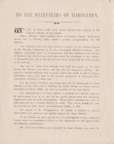 Document, page 1 | LHS archives