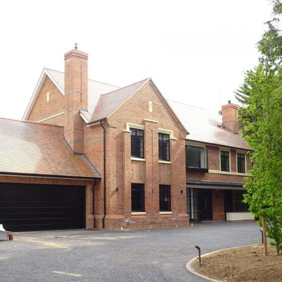 9 Park Avenue nearing completion (no photo of previous house)