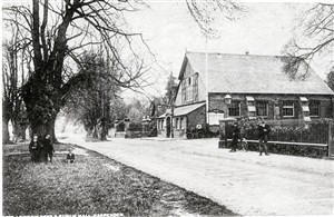 Park Hall, Leyton Road c 1905 -built in 1850 as the British School | Herts Archives and Local Studies