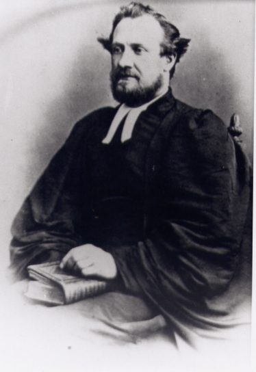 Halley Stewart as a young Methodist minister, 1870s | LHS collection, cat. no. 6035