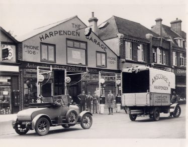 Putterills - The Harpenden Garage - 86 High Street, c. 1929 | LHS archives, from Andy Wheele (2012)**