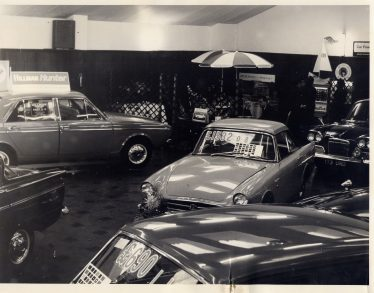 Putterills garage showroom, c.1960 | LHS Archives, from Andy Wheele (2012)**