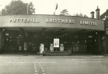 Putterills at 86 High Street, 1960s | LHS archives 000590