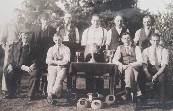 Tribute to Sid Anderson - Quoits champion