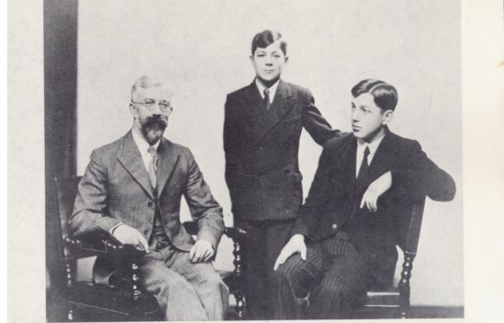 Ronald Fisher at Milton Lodge