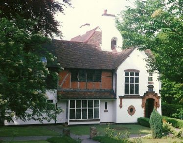 Red Gables, West Common Way, Harpenden, designed by Frank and Eustace Salisbury | LHS archives, Les Casey, 1980s,