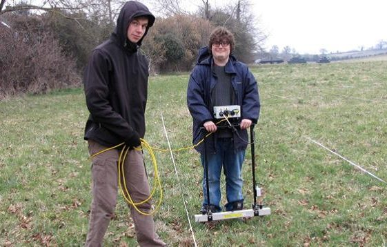 The First Geophysical Survey to help establish Batford's History: March 2015