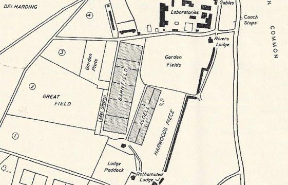 Armistice Day 1918 in Harpenden