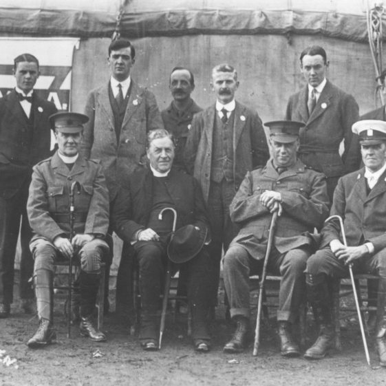 26.  YMCA volunteers and clergy, Harpenden c.1914 | LHS archives