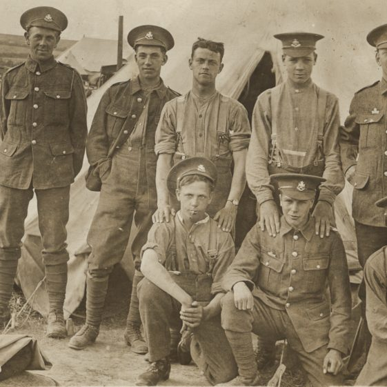 51.  Men of the 8th Battalion, probably at Westoning, near Luton, summer 1915 | Michael Briggs - SF16-MB