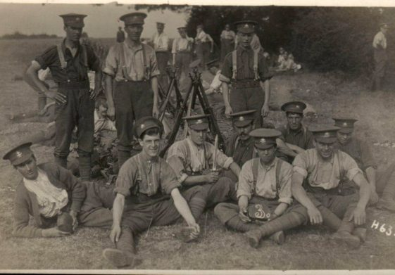 15.  2 - 6th Battalion - in Harpenden, or possibly Watford, 1914 | Michael Briggs - SF2-MB
