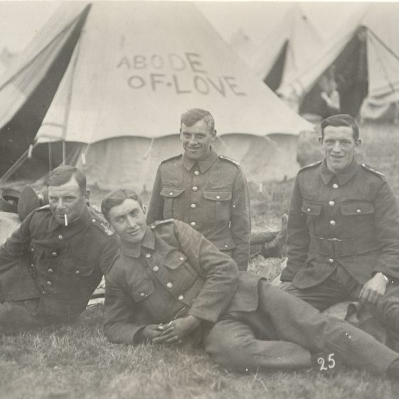 48.  6th Battalion - probably camped in Watford, 1915 | Michael Briggs - SF8-MB