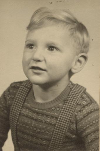 Sam, aged 4 or 5   Sam Chapman