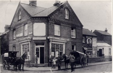 Acroyd's Bakers in the 1920s, 36 Station Road | LHS archive, cat.no. P000191