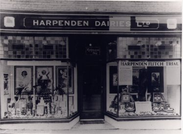 Harpenden Dairies - 15 Station Road | LHS archive, cat no. P.004791