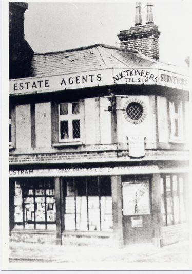 1 Station Road - Gray & Phillips, estate agent - and 3, Trustrams | LHS archive cat.no. p.006143