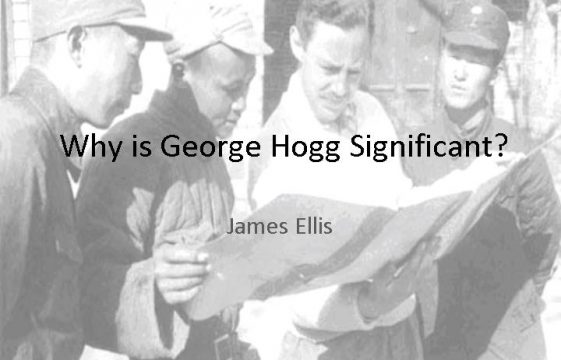 George Hogg - his significance - 3