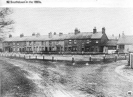 Pictures of Southdown (Bowling Alley) 1890, 1900 and 2007 compared