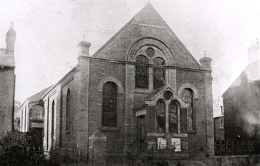 The chapel after the 1899 alterations | Harpenden Local History Society archives