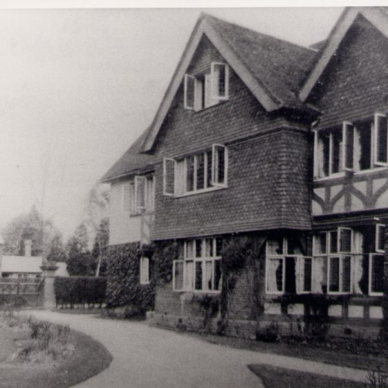 St Helena's - frontage to Luton Road | Harpenden UDC Collection