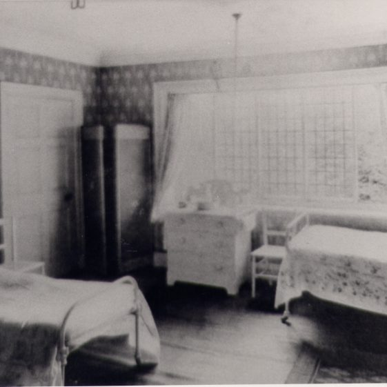 A bedroom, St Helena's | Harpenden UDC Collection