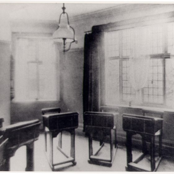 St Helena's - a classroom | Harpenden UDC Collection
